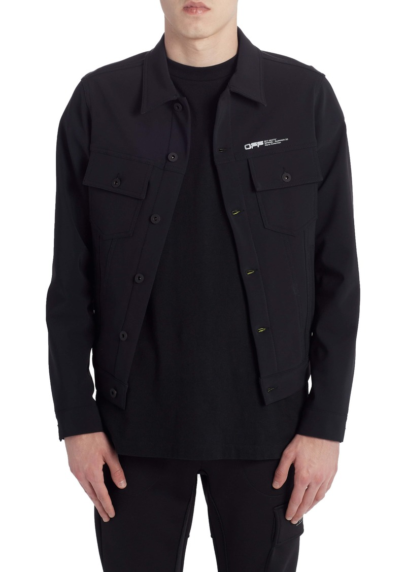 Off-White Slim Scuba Jacket
