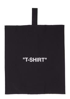 Off-White T-Shirt Storage Pouch