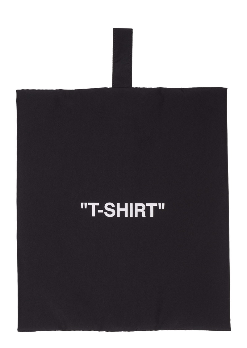 Off-White T-Shirt Storage Pouch