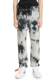 Off-White Tie Dye Slim Sweatpants