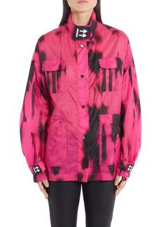 Off-White Tiger Dye Nylon Track Jacket