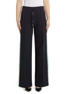 Off-White Wide Leg Jersey Track Pants