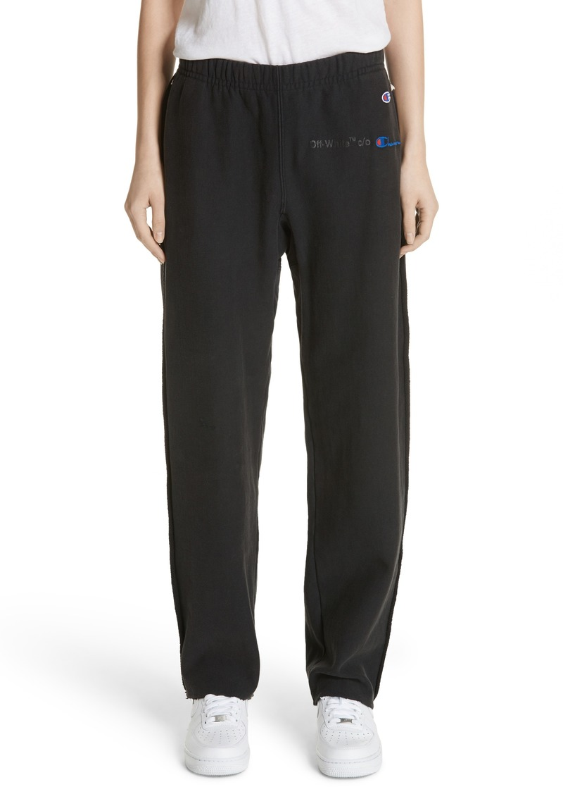3f83812eb2435d Off-White Off-White x Champion Sweatpants | Casual Pants