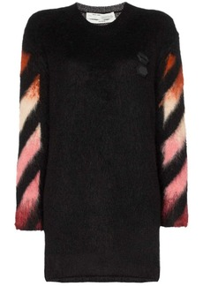 Off-White ombré arrow-print knitted dress
