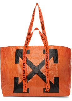 Off-White Orange New Commercial Tote