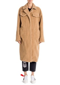 Off-White Oversized Bear Coat