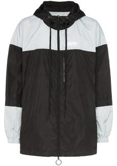 Off-White packable colour-block windbreaker jacket