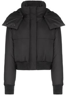 Off-White padded-logo puffer jacket
