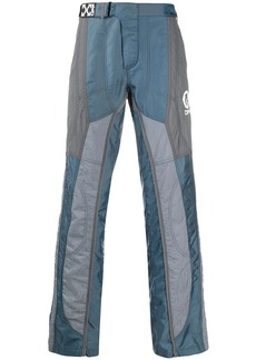 Off-White panelled straight-leg trousers