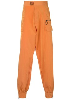 Off-White patch pockets track trousers