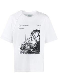 Off-White photographic print logo T-shirt