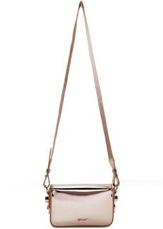 Off-White Pink Mini Mirror Flap Bag