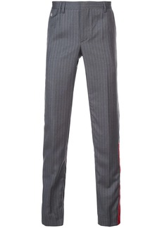 Off-White pinstripe tailored trousers