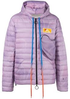 Off-White pocket detail puffer jacket