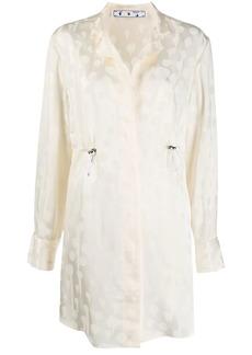 Off-White polka dot coat