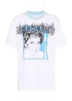Off-White Princess Diana cotton T-shirt