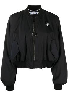 Off-White printed bomber jacket