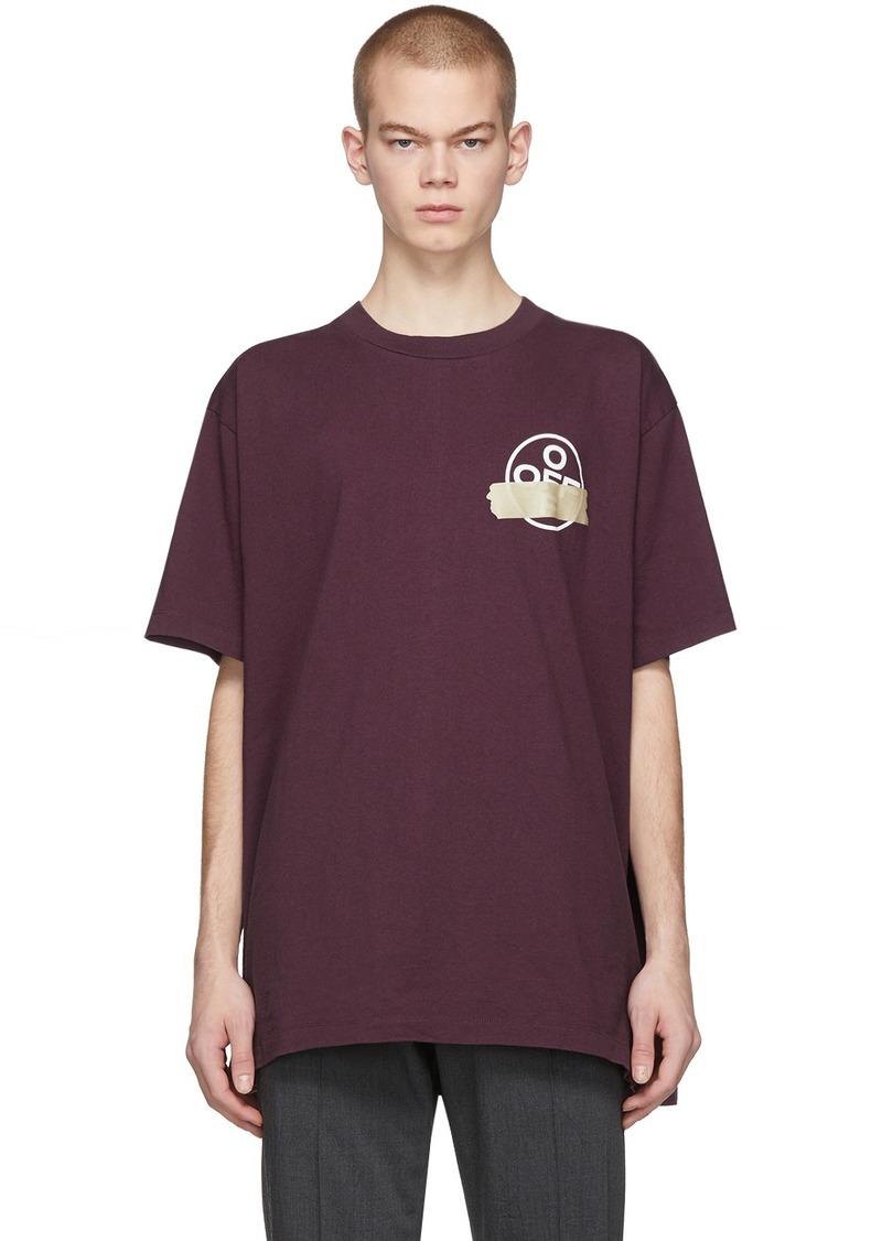 Off-White Purple Tape Arrows T-Shirt