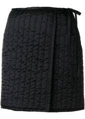 Off-White quilted mini skirt