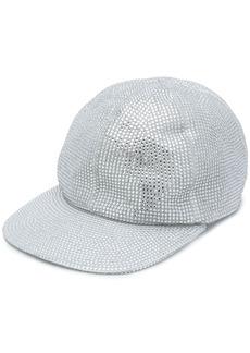 Off-White rhinestone embellished baseball cap