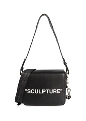 Off-White Sculpture Leather Crossbody Bag