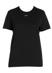 Off-White Shifted Carryover Embellished Tee