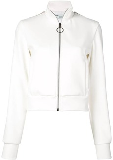Off-White side panelled zipped jacket