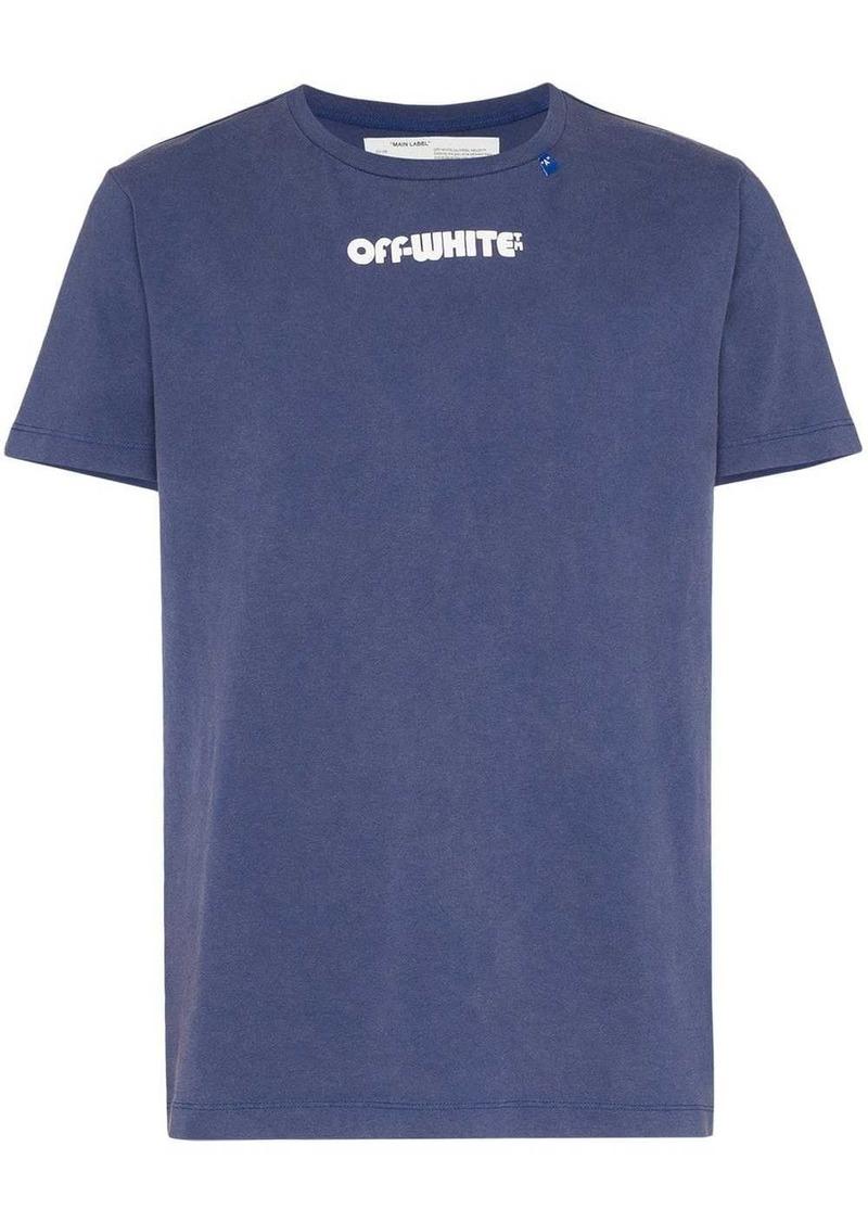 Off-White skeleton print short-sleeve T-shirt