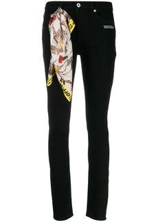 Off-White skinny leg jeans