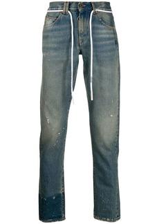 Off-White straight-leg denim jeans