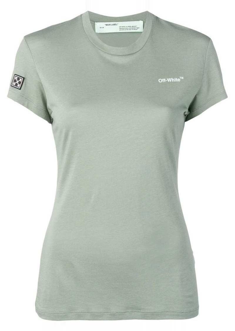 bf147f8c Off-White slim-fit logo T-shirt | Tees