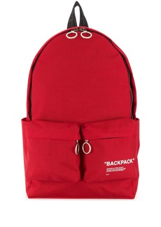 Off-White slogan backpack