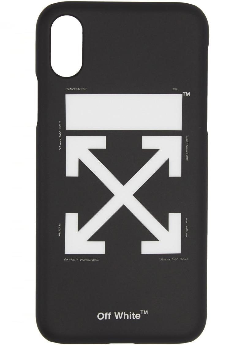 Off-White SSENSE Exclusive Black & White Arrows iPhone 11 Case