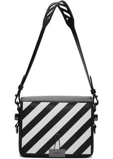 Off-White SSENSE Exclusive Black Diag Flap Bag