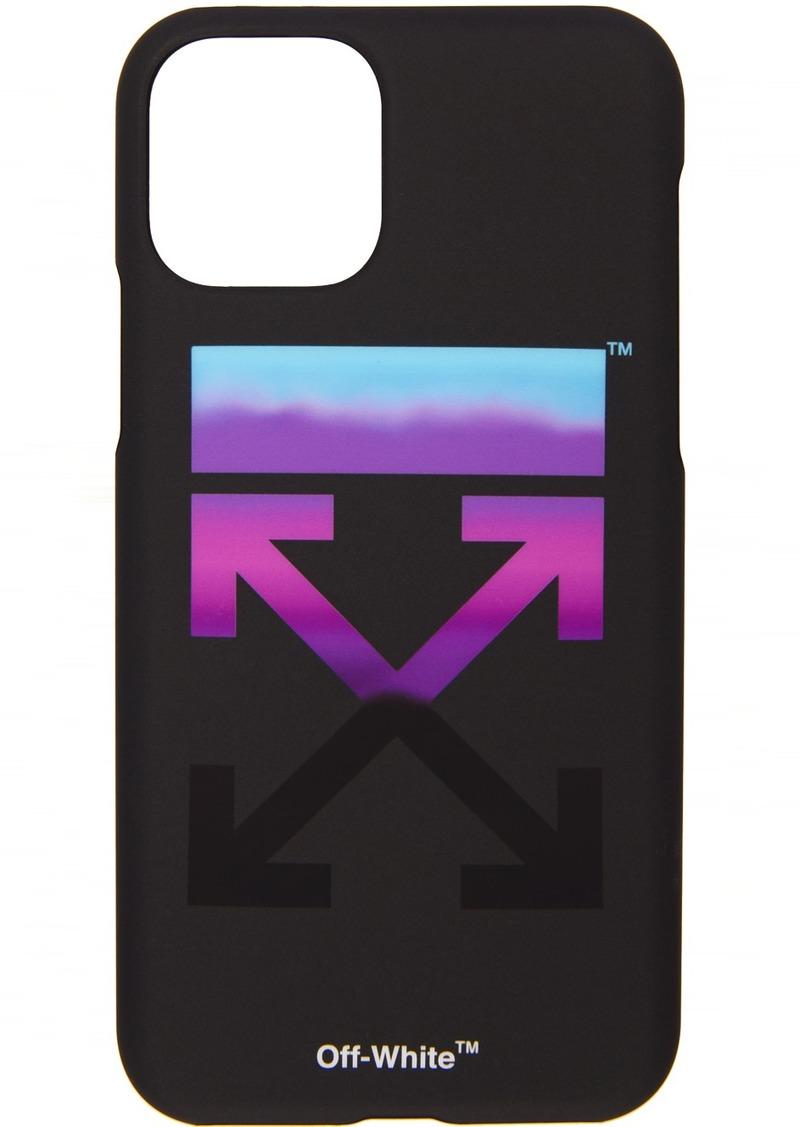 Off-White SSENSE Exclusive Black Gradient iPhone 11 Case