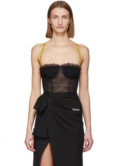 Off-White SSENSE Exclusive Black Lace Bodysuit