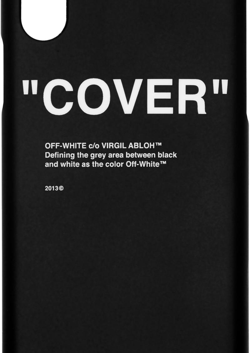 Off-White SSENSE Exclusive Black Quote iPhone 11 Case