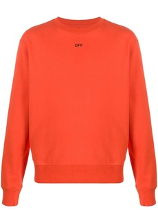 Off-White Stencil slim-fit sweatshirt