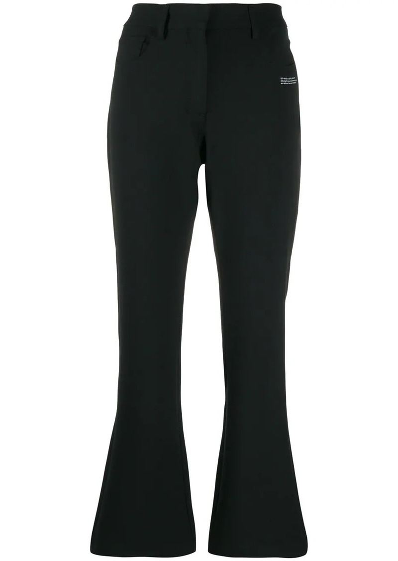 Off-White tailored cropped trousers