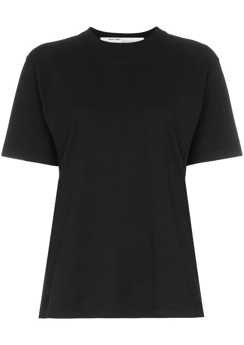 Off-White tonal logo print T-shirt
