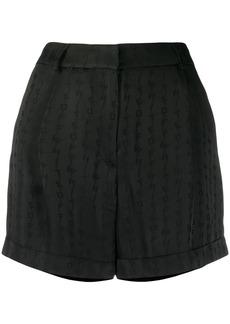 Off-White tone-on-tone logo shorts