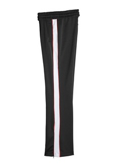 Off-White Track Pants with Zipped Ankles