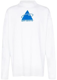 Off-White Triangle Planet print T-shirt