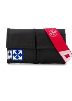 Off-White two-pocket belt bag