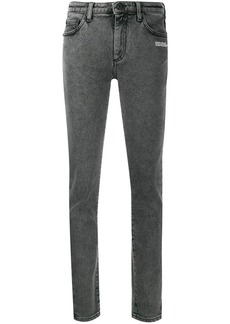 Off-White washed skinny jeans