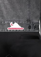 Off-White Waterproof Slim Denim Jean Jacket