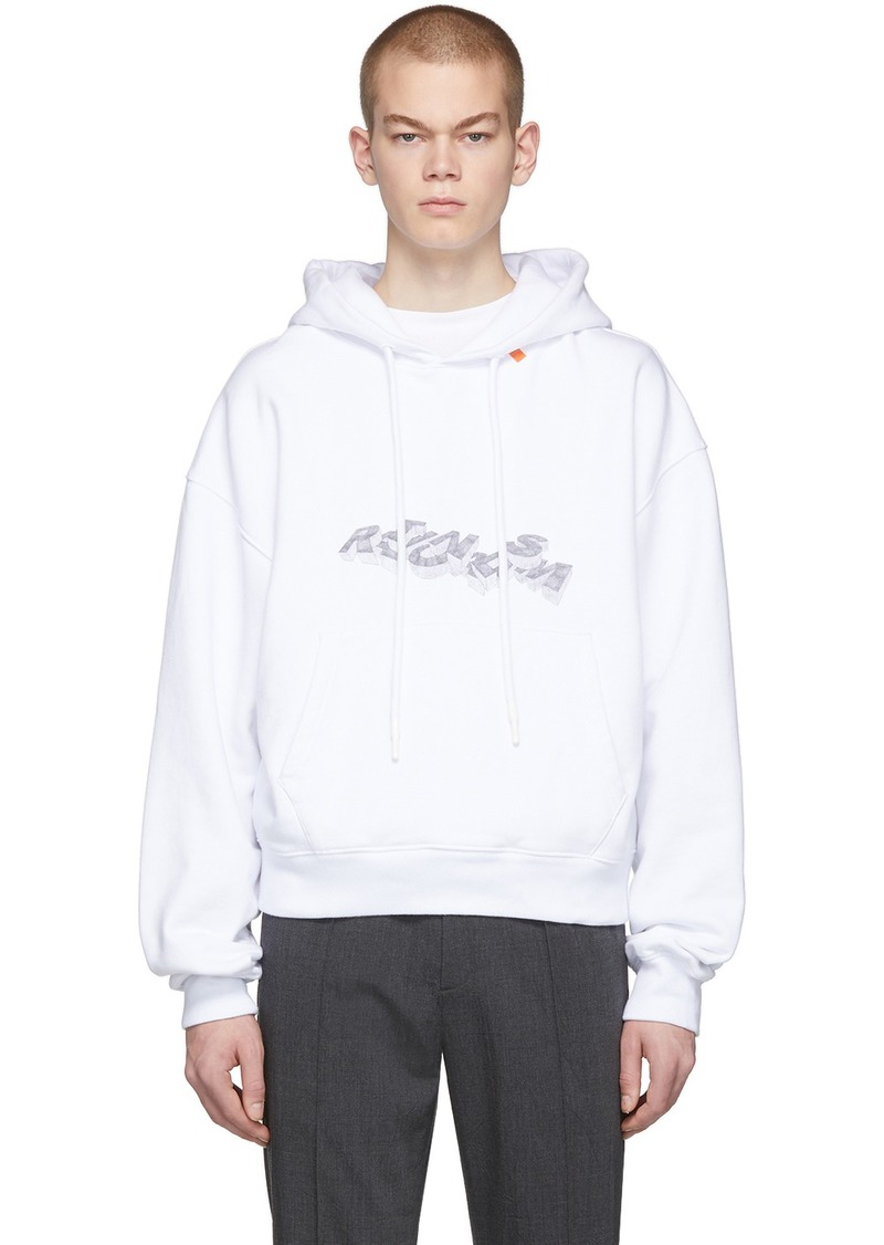 Off-White White 3D Pencil Hoodie