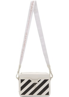 Off-White White Diag Camera Bag