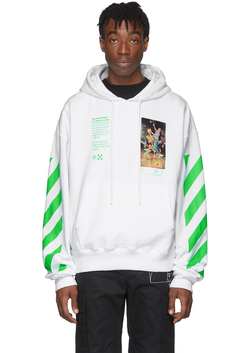 Off-White White Pascal Painting Hoodie
