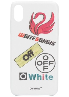 Off-White white swans iPhone XS MAX case